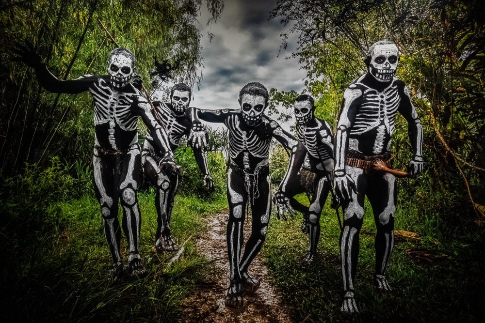 骸骨の写真