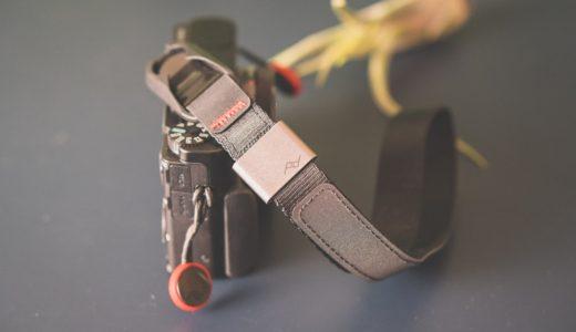 カメラをスタイリッシュに持てるリストストラップ。ピークデザインpeak design 「カフ cuff」